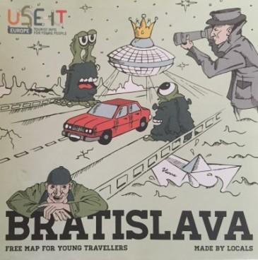 Map, Bratislava